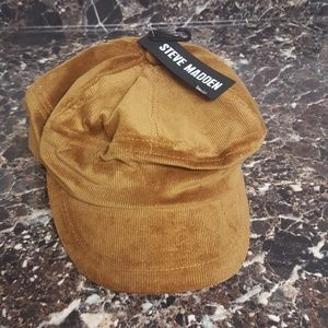 *3/$30* NWOT Steve Madden Corduroy Hat